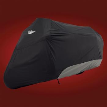 BBP 4-444 BC Body Cover Black-Charcoal Gold Wing