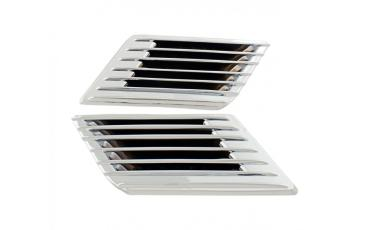AD 423-325A Fairng Vent Grills Chrome GL1200