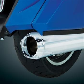 BBP 52-798 Exhaust tips chrome for GL 1800