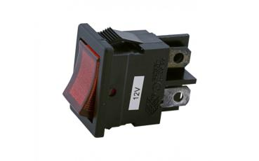 AD 673-187 R Red Rocker Switch