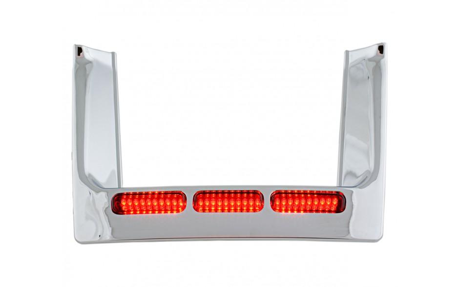 Kennzeichenrahmen mit LED Honda GL1500 - Heesch & Carstensen