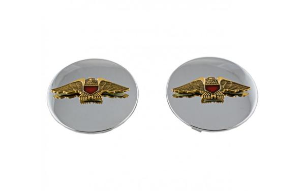 AD 373-102 Swing Arm Caps with Emblem GL1100/1200