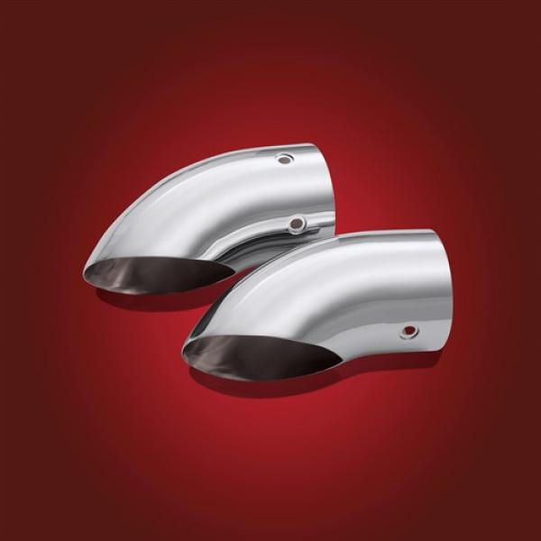 BBP 52-618 Chrome Turndown Exhaust tips for GL 1800