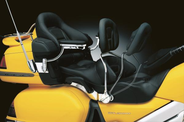 Kuryakyn 8990 Driver Backrest by Kuryakyn