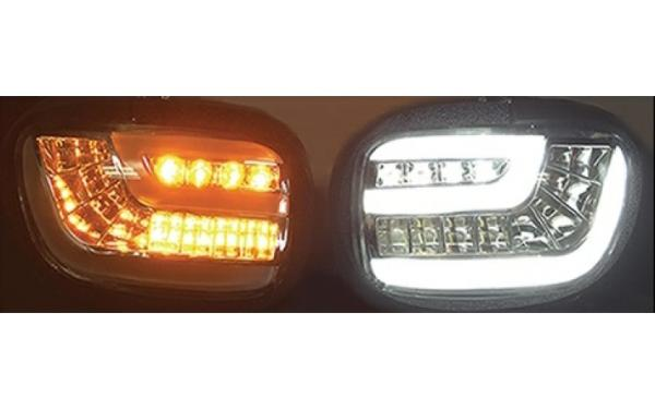 AD GL18DTS Dynamic-Sequential LED Front Indicators Lights with DRT - Smoke for GL 1800