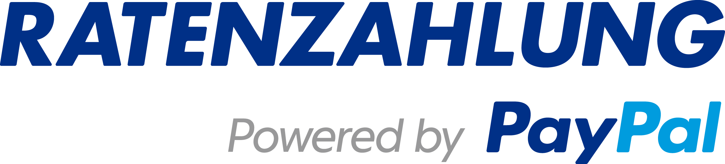 PayPal installment payments logo